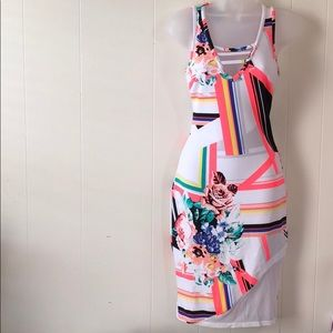 NEW Bebe abstract sexy dress size XS